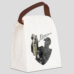 Missouri Fishing Canvas Lunch Bag