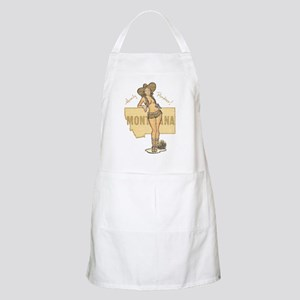Faded Montana Pinup Apron