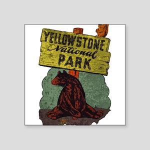 Vintage Yellowstone Sticker