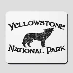 Yellowstone Wolf Mousepad