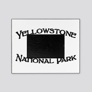 Yellowstone Wolf Picture Frame
