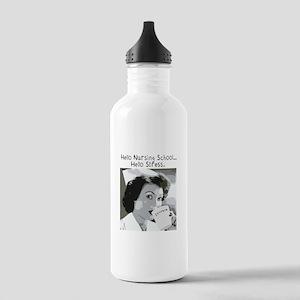 Hello Nursing School Stainless Water Bottle 1.0L