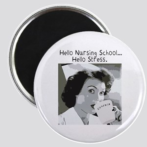 Hello Nursing School Magnet