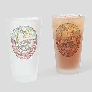 Vintage Vegas Cowboy Drinking Glass