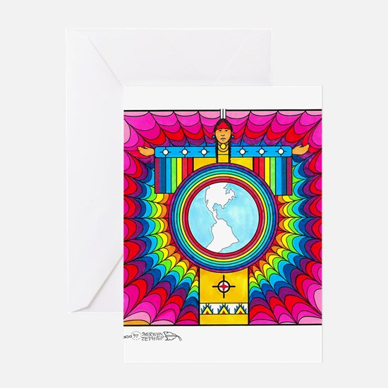 Maka Wicahpe Wicohan Cover Ar Greeting Cards (Pack