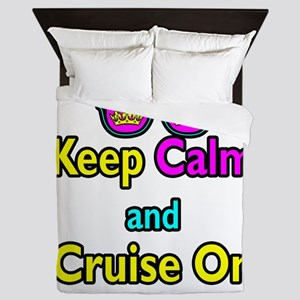 Crown Sunglasses Keep Calm And Cruise On Queen Duv