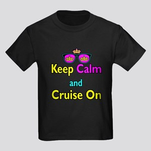Crown Sunglasses Keep Calm And Cruise On Kids Dark