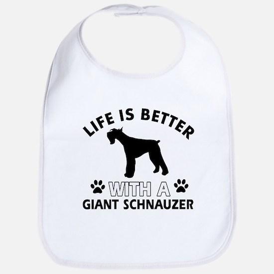 Giant Schnauzer dog gear Bib