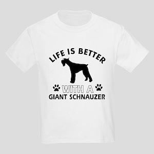 Giant Schnauzer dog gear Kids Light T-Shirt
