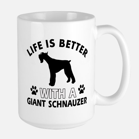 Giant Schnauzer dog gear Large Mug