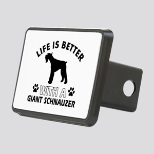 Giant Schnauzer dog gear Rectangular Hitch Cover