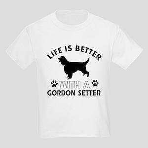 Gordon Setter dog gear Kids Light T-Shirt