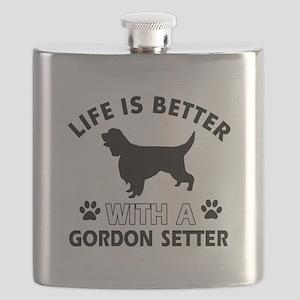 Gordon Setter dog gear Flask