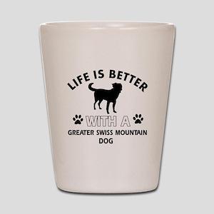 Greater Swiss Mountain Dog dog gear Shot Glass