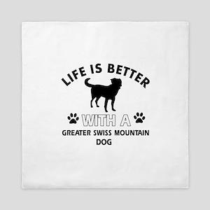 Greater Swiss Mountain Dog dog gear Queen Duvet