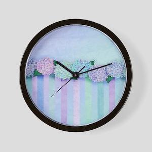Hydrangea Dreams Wall Clock
