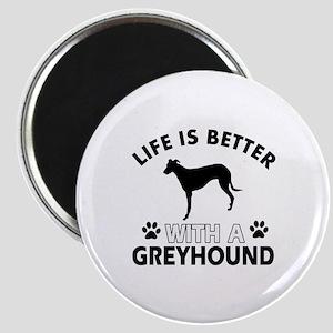 Greyhound dog gear Magnet