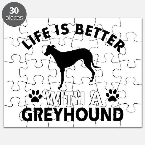 Greyhound dog gear Puzzle
