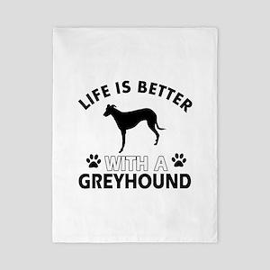 Greyhound dog gear Twin Duvet