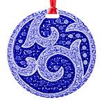 Best Of Winners Swirl Round Ornament