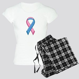 Male Breast Cancer Awareness Ribbon Pajamas