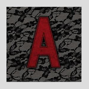 scarlet-a_square Tile Coaster