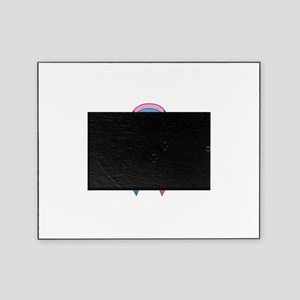 Male Breast Cancer Awareness Ribbon Picture Frame
