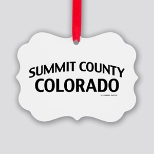 Summit County Colorado Ornament