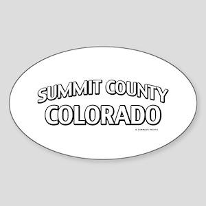 Summit County Colorado Sticker