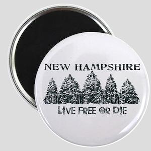 Live Free or Die Magnet