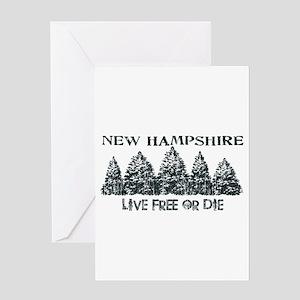 Live Free or Die Greeting Card