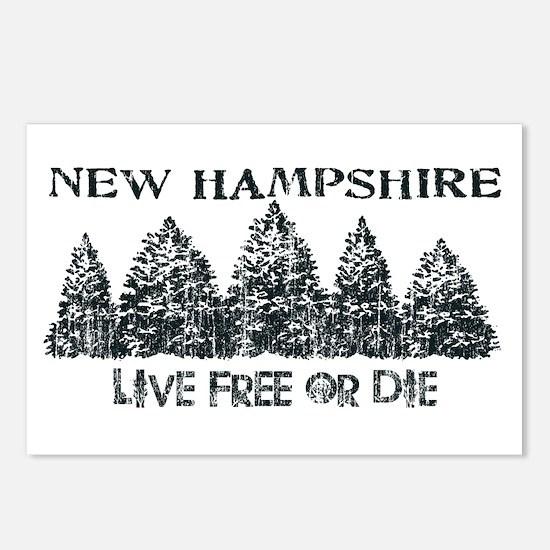 Live Free or Die Postcards (Package of 8)
