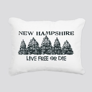 Live Free or Die Rectangular Canvas Pillow