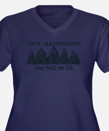 Live Free or Die Plus Size T-Shirt