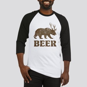 Bear+Deer=Beer Vintage Baseball Jersey