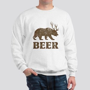Bear+Deer=Beer Vintage Sweatshirt