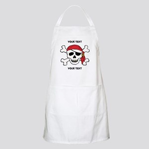PERSONALIZE Funny Pirate Apron