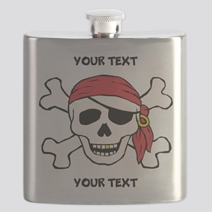 PERSONALIZE Funny Pirate Flask