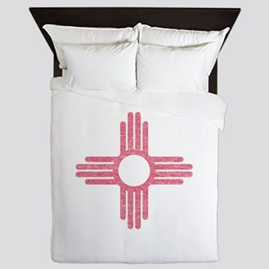New Mexico State Flag Queen Duvet