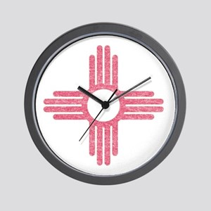 New Mexico State Flag Wall Clock