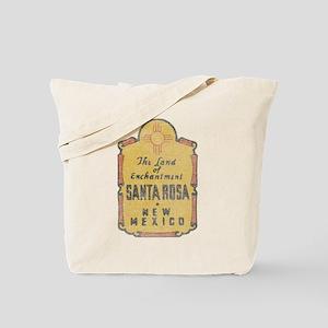 Faded Santa Rosa NM Tote Bag