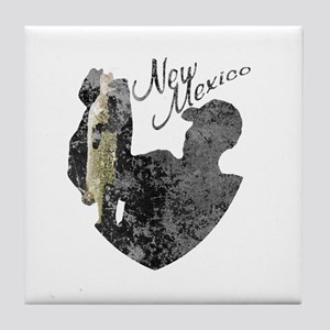 New Mexico Fishing Tile Coaster