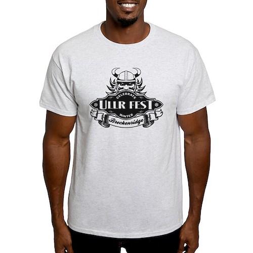 Ullr Fest Ullr Emblem Black T-Shirt
