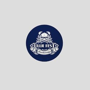 Ullr Fest Ullr Emblem Blue Mini Button