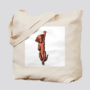 Dangling Dachsie Tote Bag