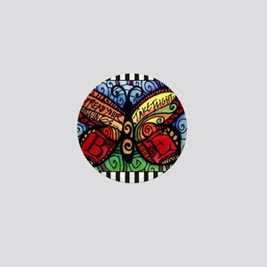 Spread Your Wings and Fly Butterfly Mini Button
