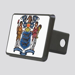 New Jersey State Flag Hitch Cover