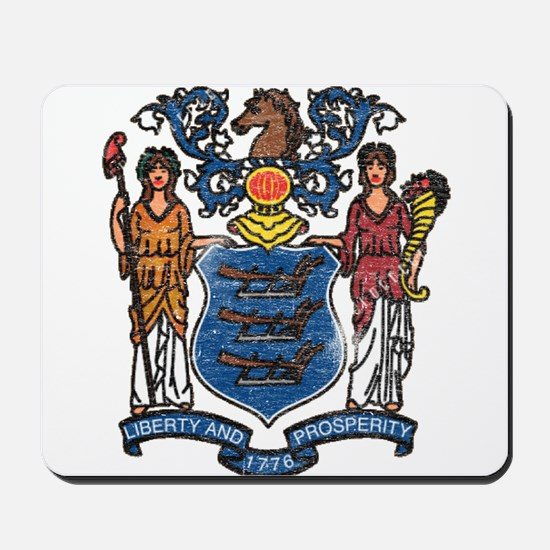 New Jersey State Flag Mousepad