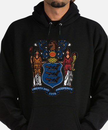 New Jersey State Flag Hoodie