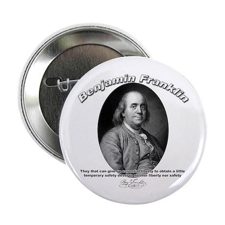 "Benjamin Franklin 02 2.25"" Button (10 pack)"